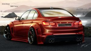 BMW 3 Series GTR by Active-Design
