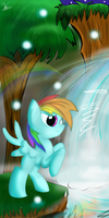 Rainbow Gully by StrangeMoose
