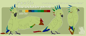 Paulie The Cockatoo Parrot by WolfHearts