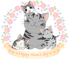 Chi happy Mom's Day by miri-chiwa