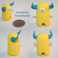 Donald the Timid Monster by TimidMonsters