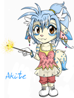 Chibi Akite by Nestly