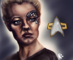 Seven of Nine by Celairen