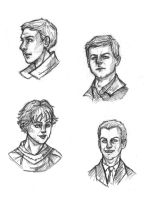 Sherlock BBC - Sketches 1 by LaLunatique