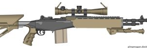 M21EBR Improved by shadowcompanysoldier