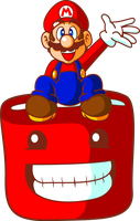 Red Team: Mario and Meat Boy by JamesmanTheRegenold