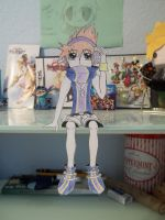 Neku paper child by RoxasCooksBacon13