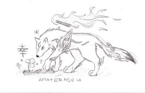 Ammy sketch by wolfsouled