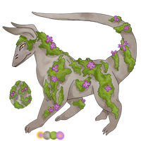 Moss Covered Rock [Adopt - OPEN] by garnma