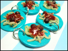 Free Spaghetti Charms by GrandmaThunderpants