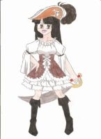 Pirate Chick by animequeen20012003