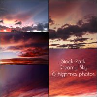 Dreamy Sky. Stock Pack by Chari-ot