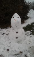 Olaf the Snowman (Front) by snowcloud8