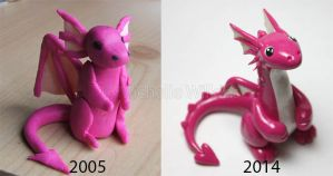 Pink Draik remake by DragonsDust