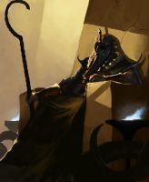 Nyarlathotep, The Black Pharaoh by MorkarDFC