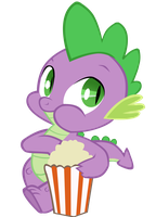 Spike nomnomnoms by polar-pixel