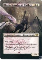 MTG Altered Card_Thalia, Guardian of Thraben by GhostArm1911