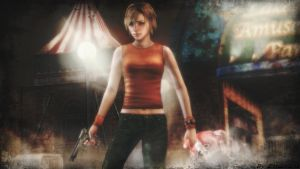 Silent hill wallpaper - Heather Mason by ethaclane