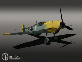 Messerschmitt Me109 by Ouroboros888