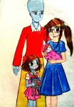 Megaminds with 2 children by e31