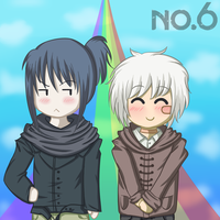 NO.6 Nezumi and Shion by ItachiXShana