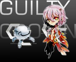 Guilty Crown Chibis by godzilla23