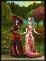 Victorian Flowers by Arctic-Sekai