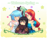 welcome spring by irask