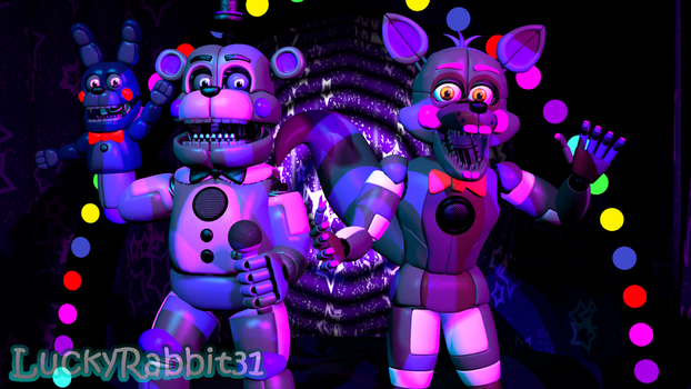 [SFM] Come down here to Enjoy The Show! by LuckyRabbit31