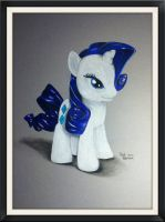 Rarity Toy Drawing by PencilRick
