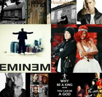 Collage of Eminem by EminEzio