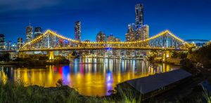 Story Bridge- Brisbane Queensland by MarkLucey