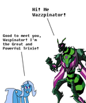 Trixie Lulamoon Meets the Waspinator by mjeddy