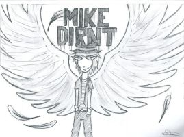 Mike Dirnt angel. by Diamond-Racer
