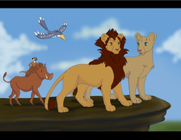 The Lion King by TickTockTheBoomBunny
