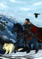 A Game of Thrones - Jon Snow by Shockbolt