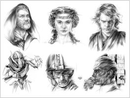 SW Characters: Mix by Callista1981