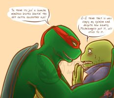Tmnt A Lesson In Boxing - Cornered by Dragona15