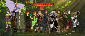 HTTYD 2 Viking Collab! by Maygirl96