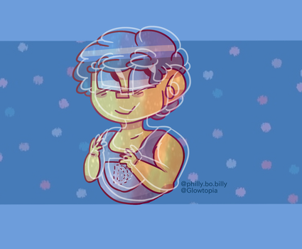 yellow guy! (manny? danny?) by Glowtopia