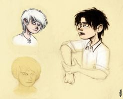 The Infernal Devices - sketches by Kallica
