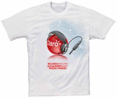T-shirt for concert by Domenicos