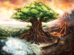 The World Tree by kevywk