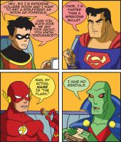 Justice League: Speed Isn't Everything by Neodusk