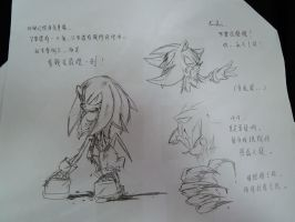 more Sonic doodles by amberday