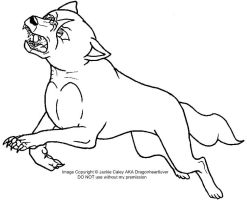 New Ginga LineArt 8 by DragonHeartLuver