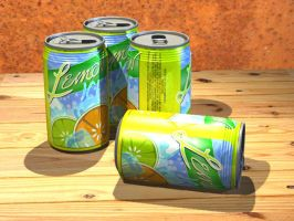 3D Cans-TheCollegeFiles by gmey