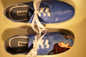 Apple Pie Shoes by i-like-balloons