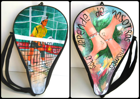 Paddle racket case by RubenFD