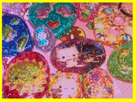 Resin Goodies by Daisy--Chains